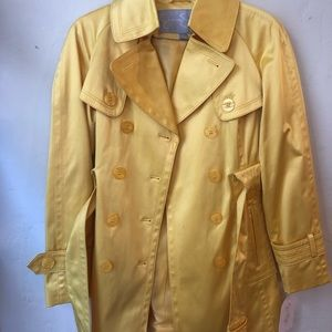 Cute yellow Jessica Simpson Trench Coat. NWT